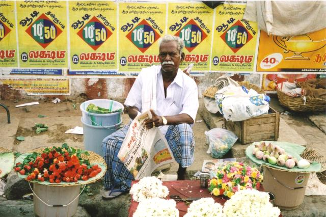 trichy garland seller