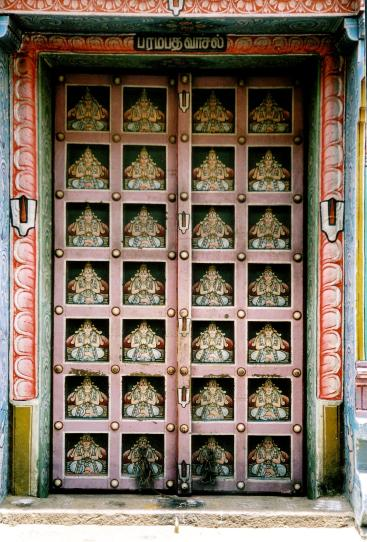 trichy temple door